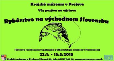 Rybárstvo na východnom slovensku