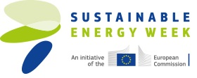 Logo Sustainable Energy Week - An invitative of the European Comission