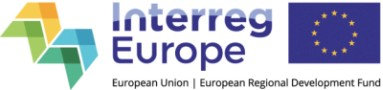 Logo programu Interreg Europe (European Union/European Regional Development Fund)